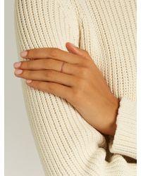 Ileana Makri - Sapphire & Pink-gold Ring - Lyst