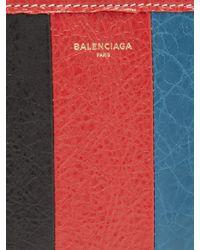 Balenciaga - Multicolor Bazar Zip-around Leather Continental Wallet for Men - Lyst