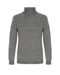 Howlin' By Morrison - Gray Sylvester Wool Roll-neck Sweater for Men - Lyst