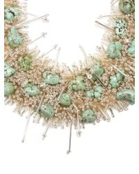 Toga - Multicolor Bead And Turquoise-embellished Necklace - Lyst