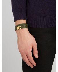 Buscemi - Multicolor Wraparound Leather Bracelet for Men - Lyst