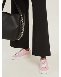 Givenchy - Pink Urban Street Low-top Leather Trainers - Lyst