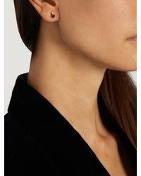 Loren Stewart - Blue Diamond, Sapphire & Yellow-gold Earrings - Lyst