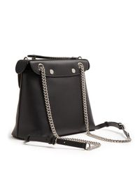 Fendi - Black Back To School Mini Leather Backpack - Lyst