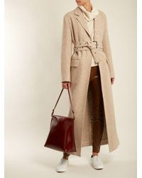 The Row - Brown Wander Medium Leather Shoulder Bag - Lyst