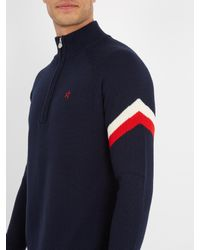 Perfect Moment - Blue La Tour Iii High-neck Wool Sweater for Men - Lyst