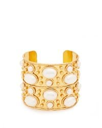Sylvia Toledano - Metallic Byzantine Medium Gold-plated Cuff - Lyst