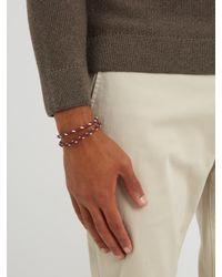 Tod's - Multicolor Mycolours Woven-leather Bracelet for Men - Lyst