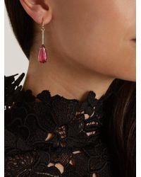 Irene Neuwirth - Multicolor Diamond, Tourmaline & Rose-gold Earring - Lyst