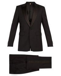 Burberry - Black Marylebone Wool Blend Tuxedo for Men - Lyst