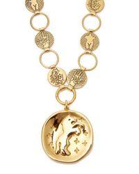 Chloé - Metallic Emoji Charm Necklace - Lyst