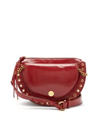 See By Chloé - Red Kriss Patent-leather Cross-body Bag - Lyst
