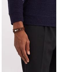 Miansai - Multicolor Trice Braided Leather Bracelet for Men - Lyst