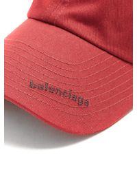 Balenciaga - Logo-embroidered Cap - Lyst