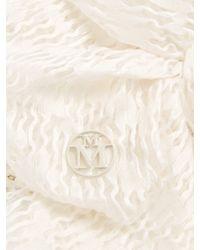 Maison Michel - White Henrietta Straw Hat - Lyst