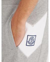 Moncler Gamme Bleu - Gray Basic Slim-leg Cotton Track Pants for Men - Lyst