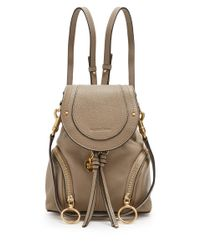 See By Chloé - Multicolor Olga Grained Leather Backpack - Lyst