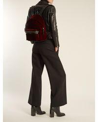 Saint Laurent - Multicolor City Velvet Backpack - Lyst