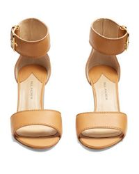 Paul Andrew - Multicolor Tindra Leather Sandals - Lyst