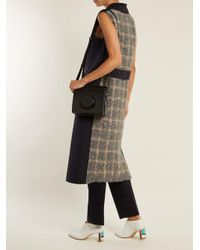 Gabriela Hearst - Blue Collins Contrast-panel Sleeveless Cashmere Coat - Lyst