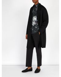 Dolce & Gabbana - Black Mocassins en jacquard for Men - Lyst