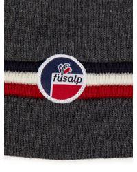 Fusalp - Gray Wengen Ii Ribbed Wool Hat for Men - Lyst