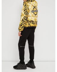 Versace - Multicolor Baroque Print Hooded Jacket for Men - Lyst