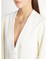 Susan Foster   Black Diamond Slice & White-gold Necklace   Lyst