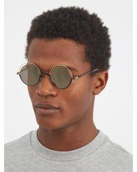 Mykita - Metallic Bueno Round-frame Sunglasses for Men - Lyst