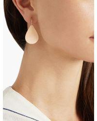 Irene Neuwirth - Pink Rose-Gold Earrings - Lyst