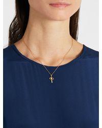 Ileana Makri - Metallic Diamond, Opal & Yellow-gold Necklace - Lyst