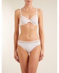 Hanro - Multicolor Cara Striped-waist Briefs - Lyst