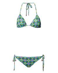 Matthew Williamson | Multicolor Venetia Print Triangle Bikini | Lyst