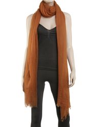 Leon Max - Multicolor Gossamer Weight Cashmere Shawl - Lyst