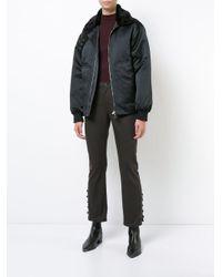 Nomia | Black Aviator Jacket for Men | Lyst