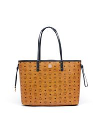 MCM - Multicolor Reversible Shopper Project Visetos - Lyst