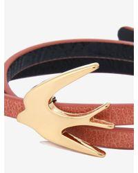 McQ - Multicolor Swallow Mini Wrap Bracelet - Lyst