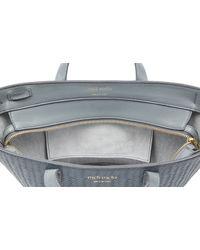 Meli Melo - Rosalia Mini Cross Body Bag Blue Heron Woven - Lyst