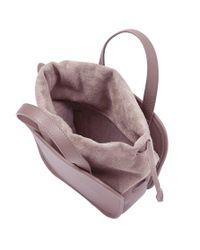 Meli Melo - Pink Rosetta | Cross Body Bag | Mauve - Lyst