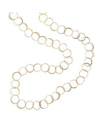 Melissa Joy Manning | Metallic 50 Inch Classic Hand Hammered Necklace | Lyst