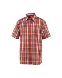 Merrell - Red Ferris Plaid Shirt for Men - Lyst
