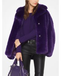 Michael Kors | Purple Cotton-blend Pullover | Lyst