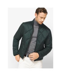 Michael Kors | Green Packable Quilted-nylon Down Jacket for Men | Lyst