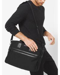Michael Kors - Black Parker Large Nylon Briefcase for Men - Lyst