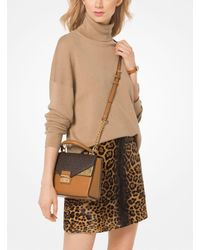 Michael Kors - Natural Knit Turtleneck Pullover - Lyst