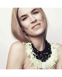 Mignonne Gavigan | Georgeanna Necklace Black/citrine | Lyst
