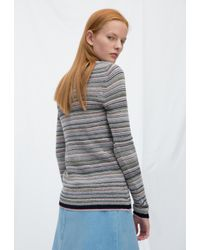 MiH Jeans - Gray Moonie Sweater - Lyst