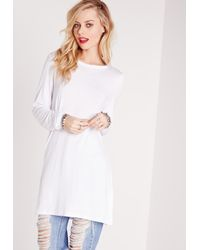 Missguided - Harness Back Top White - Lyst