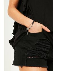 Missguided | Metallic Silver 3 Pack Simple Bracelets | Lyst