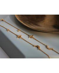 Missoma - Metallic Starlight Moon Bracelet - Lyst